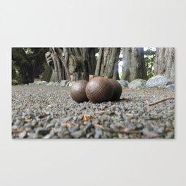 boule set up perspective Canvas Print
