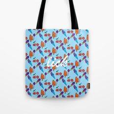 Lick | Blue Tote Bag