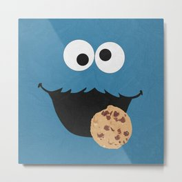 CookieMonster Metal Print