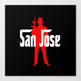 San Jose mafia Canvas Print