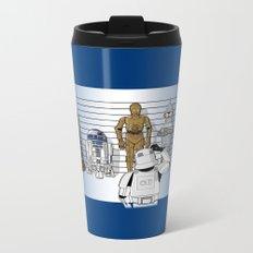 Star Wars Droid Lineup Metal Travel Mug