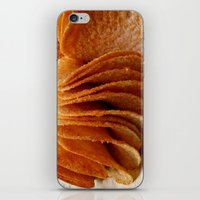 potato iPhone & iPod Skins featuring Potato Chips by Guna Andersone & Mario Raats - G&M Studi