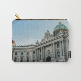 Hofburg Imperial Palace   Vienna, Austria   Colourful Travel Photography Carry-All Pouch