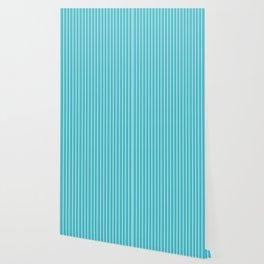 Lemoncello Striped Wallpaper