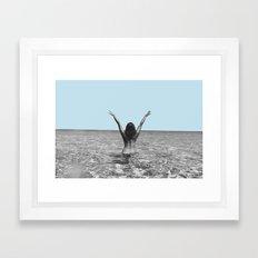 Live Framed Art Print
