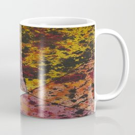 Corner Splatter # 10 Coffee Mug