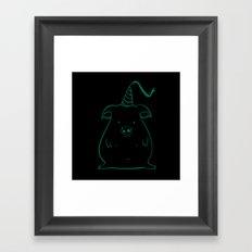 piggy 12 Framed Art Print