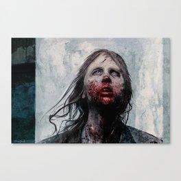 The Lone Wandering Walker - The Walking Dead Canvas Print