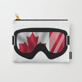 Canadian Goggles | Goggle Art Design | DopeyArt Carry-All Pouch