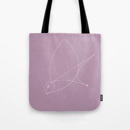 Contours: Barn Owl (Line) Tote Bag