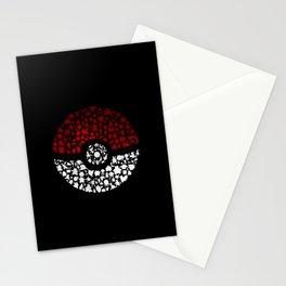 poke ball Stationery Cards