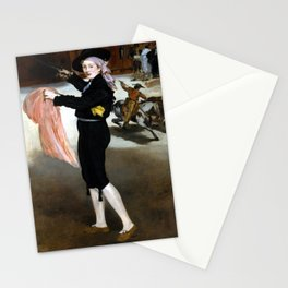 Édouard Manet  Mademoiselle V. in the Costume of an Espada Stationery Cards