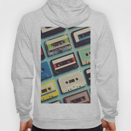 Cassette tape aerial view vintage style collection Hoody