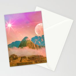 Ruins: Household of gods Stationery Cards