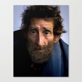 Face of Humanity Canvas Print