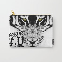 LooKinG at U KiD and the eYe of the TiGer Carry-All Pouch