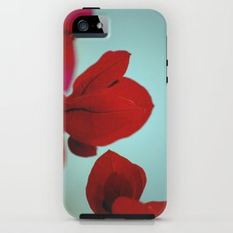 Flower flash iPhone Case
