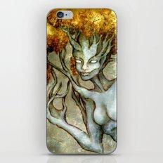 Golden Dryad iPhone & iPod Skin