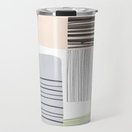 Abstract Pastels Travel Mug