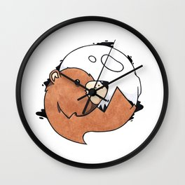 Moonbear Wall Clock