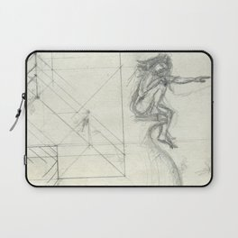 Arial,the ghost Laptop Sleeve