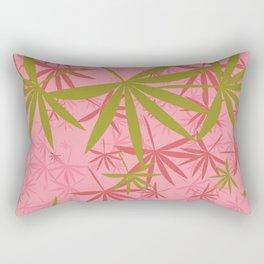 Leaves 3b Rectangular Pillow