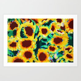 Sunflowers I Art Print