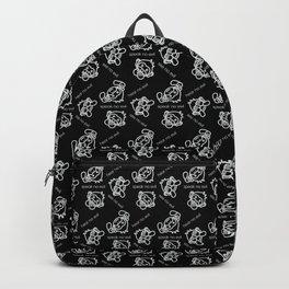 See No Evil, Hear No Evil, Speak No Evil Minimal Monkeys Backpack