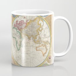 A General Map of the World - Laurie 1794 Coffee Mug