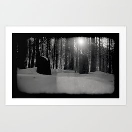 Winter Exposures  Art Print