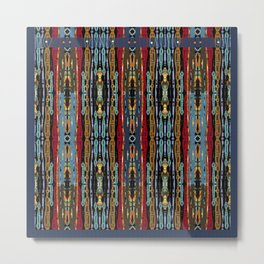 SOUTHWESTERN ABSTRACT DESIGN Metal Print
