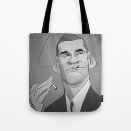Cartoon Draper Tote Bag