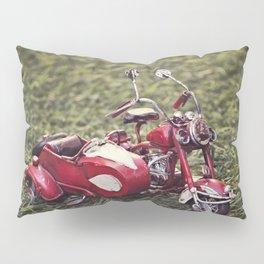 Metal sidecar Pillow Sham