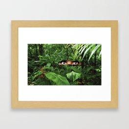 #92 Camouflage Framed Art Print