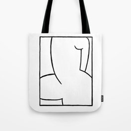 Proud Naked Woman Tote Bag