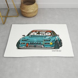 Crazy Car Art 0156 Rug
