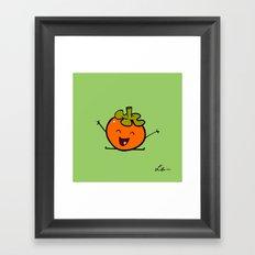 Persimmon Framed Art Print