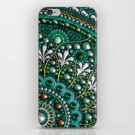 Emerald Velvet iPhone Skin