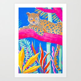 Exotic Jungle Art Print
