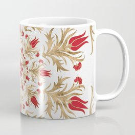 Turkish tulip - Ottoman tile 2 Coffee Mug