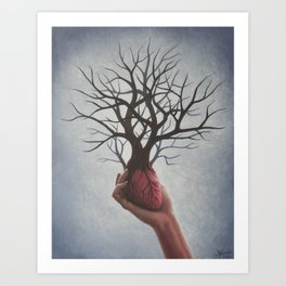 Nourishing Heart Art Print