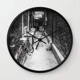 Tian Zi Fang Alley Wall Clock