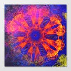Vibrant fractal explosion Canvas Print