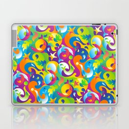 Dolphins, Seals and Sea Life in Tropical Ocean Waves Laptop & iPad Skin