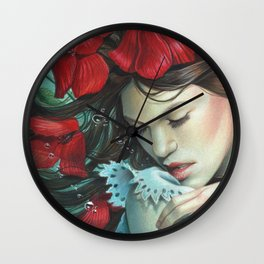 The Disappearance of The Girl Wall Clock