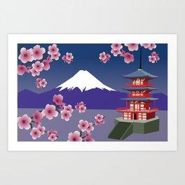Mount Fuji 1 Art Print