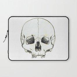 Simple Skull Laptop Sleeve