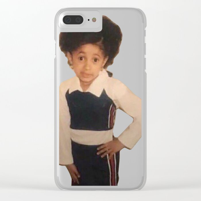 official photos 55f4b 63544 Yound Cardi B Meme Clear iPhone Case by kylejohnsontv