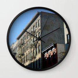 Sunset East Village Wall Clock