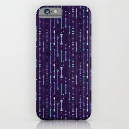 Scandi-Sticks B - Vertical - Glow iPhone Case